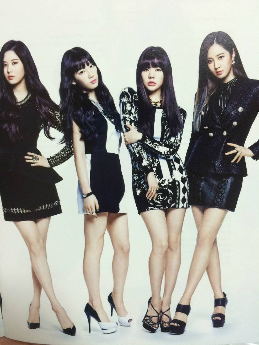 [140722] Seohyun, Taeyeon, Sunny & Yuri (SNSD) New Picture for The BEST (Scan) by Gray_YuRism