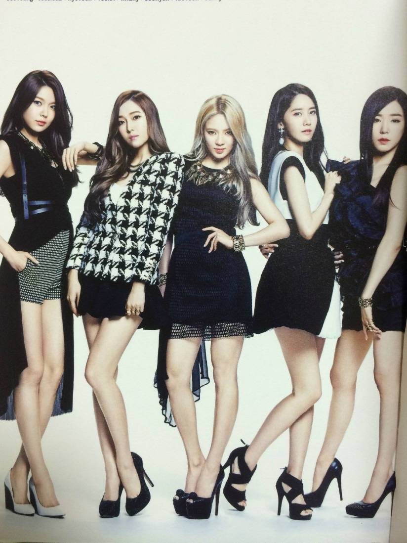 [140722] Sooyoung, Jessica, Hyoyeon, Yoona & Tiffany (SNSD) New Picture for The BEST (Scan) by Gray_YuRism