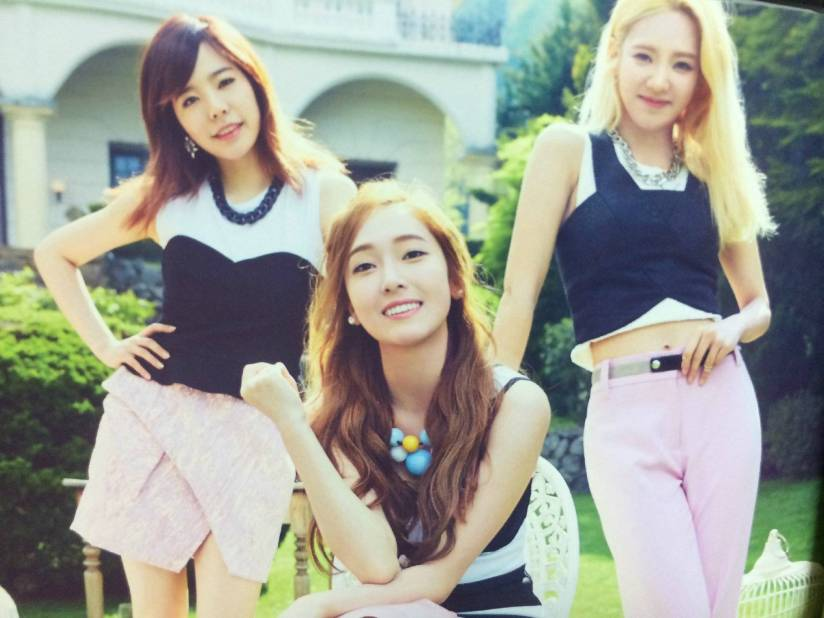 [140722] Sunny, Jessica & Hyoyeon (SNSD) New Picture for The BEST (Scan) by Gray_YuRism