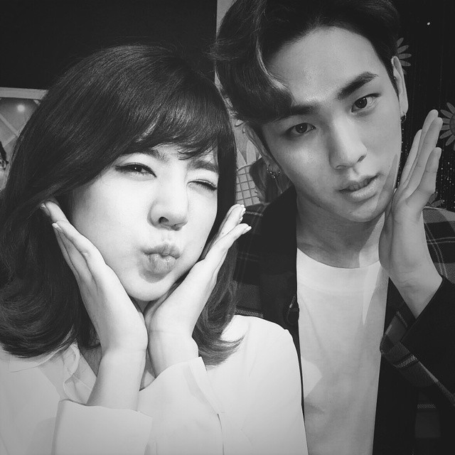 [140722] Sunny (SNSD) New Selca with Key (SHINee) via bumkeyk's instagram