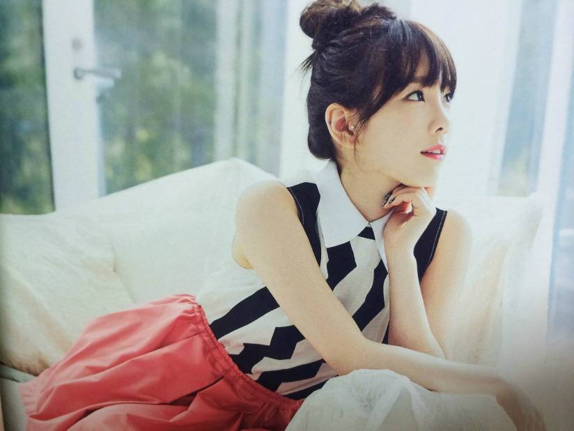 [140722] Taeyeon (SNSD) New Picture for The BEST (Scan) by Gray_YuRism [6]