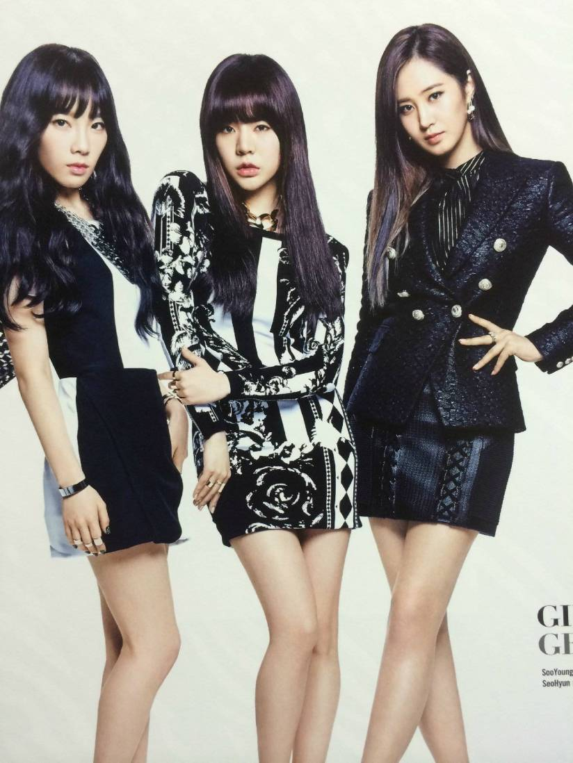 [140722] Taeyeon, Sunny & Yuri (SNSD) New Picture for The BEST (Scan) by Gray_YuRism
