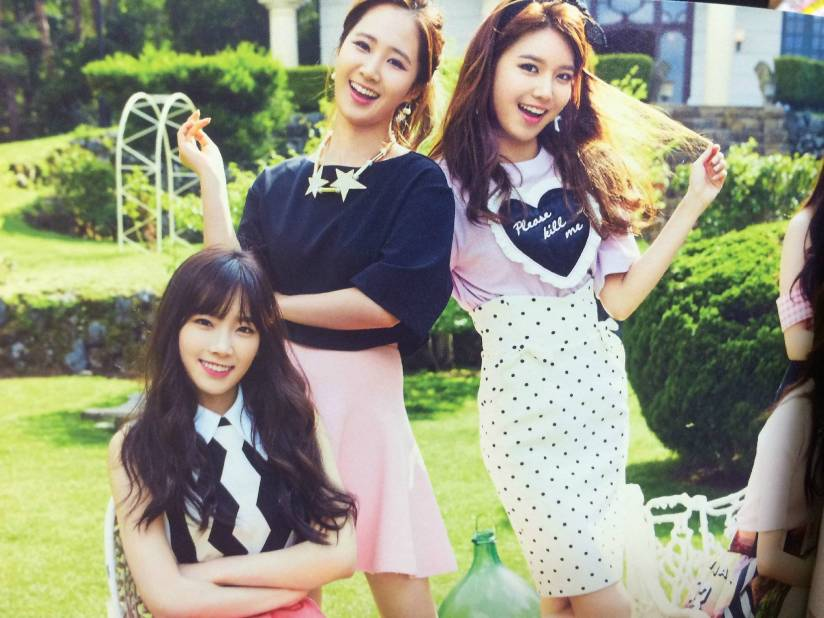 [140722] Taeyeon, Yuri & Sooyoung (SNSD) New Picture for The BEST (Scan) by Gray_YuRism