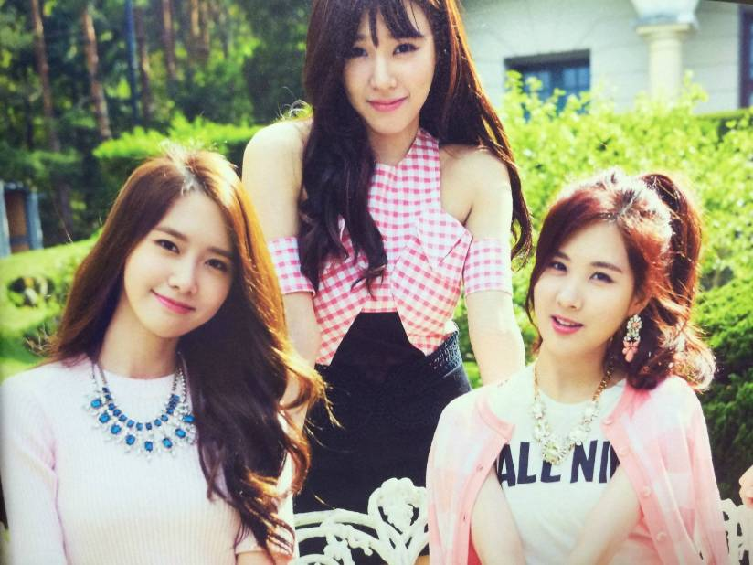 [140722] Yoona, Tiffany & Seohyun (SNSD) New Picture for The BEST (Scan) by Gray_YuRism [2]