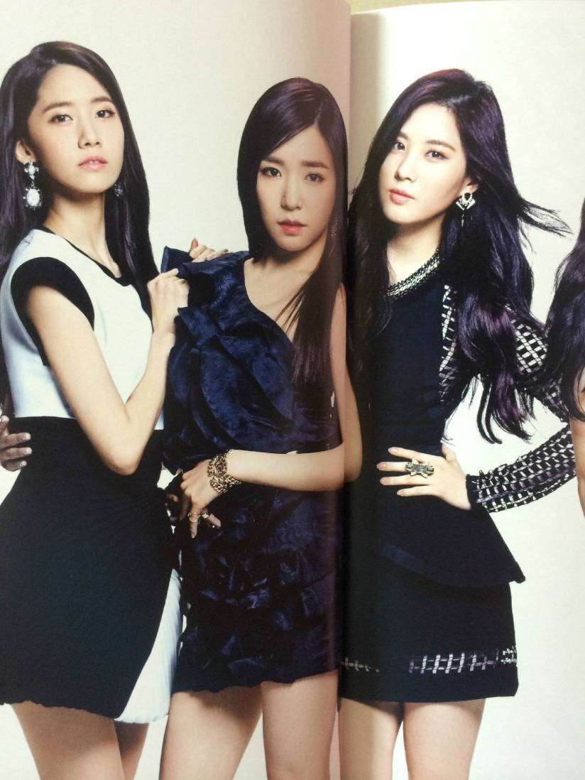 [140722] Yoona, Tiffany & Seohyun (SNSD) New Picture for The BEST (Scan) by Gray_YuRism