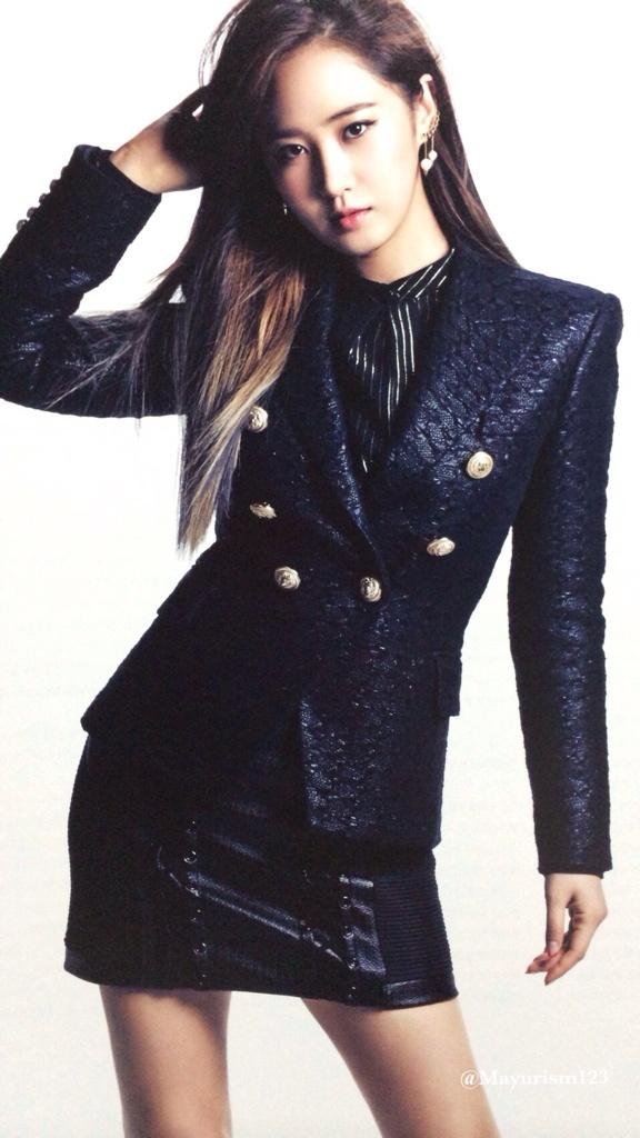 [140724] Yuri (SNSD) New Picture for The Best (The Best Japanese Album) by Mayurism123 [2]