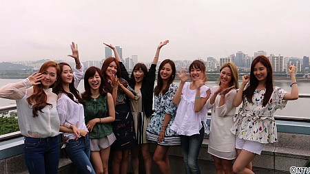 [140725] Girls' Generation (SNSD) New Selca via Another Sky [1]