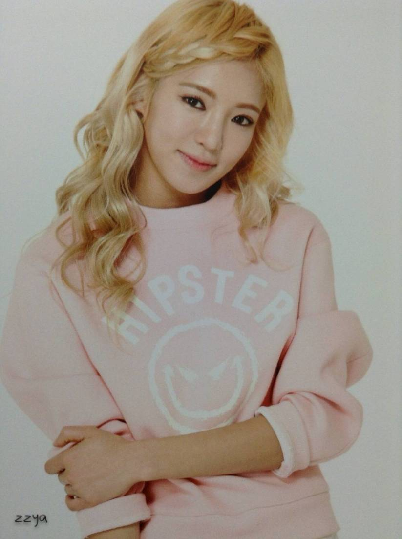 [140726] Hyoyeon (SNSD) Photocard for Lucky Box (Scan) by 吃核桃壳