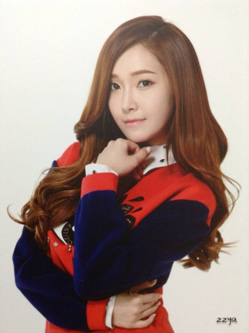 [140726] Jessica (SNSD) Photocard for Lucky Box (Scan) by 吃核桃壳