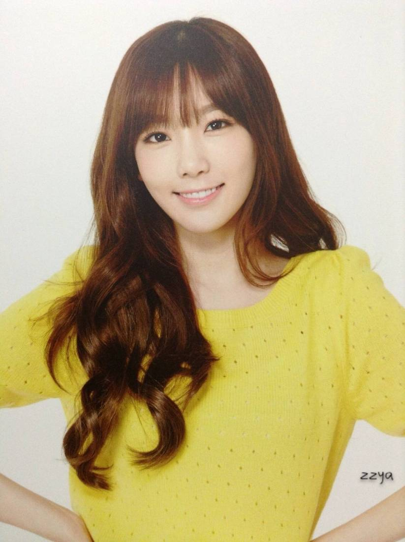 [140726] Taeyeon (SNSD) Photocard for Lucky Box (Scan) by 吃核桃壳