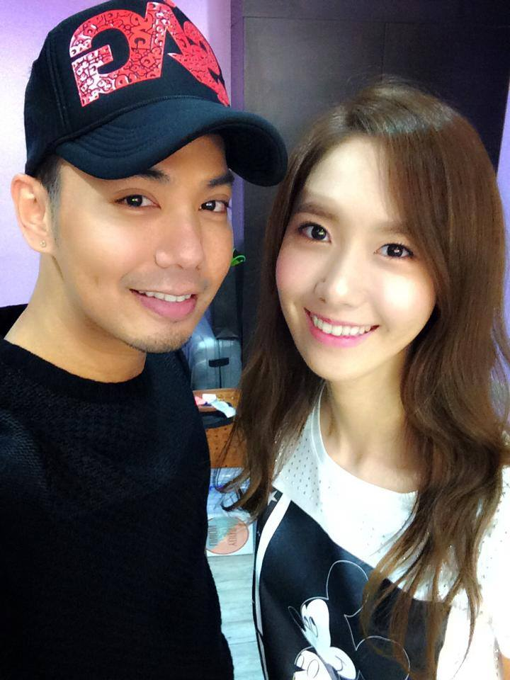 [[140726] Yoona (SNSD) New Selca with J-Mix via J-Mix's facebook