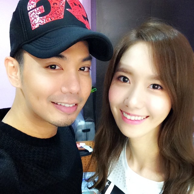 [[140726] Yoona (SNSD) New Selca with J-Mix via jmix609's instagram
