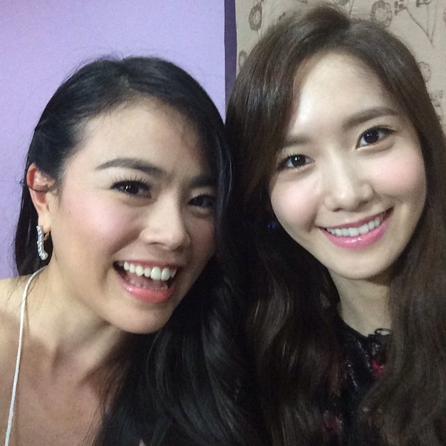 [140726] Yoona (SNSD) New Selca with Praew Hassaya via praewh's instagram [2]