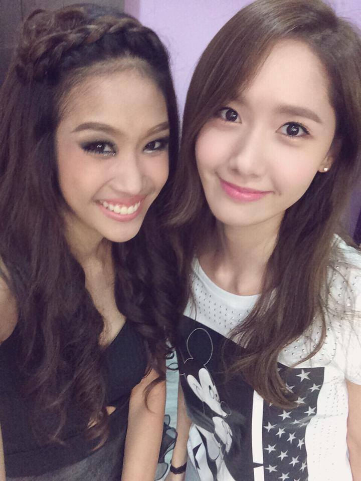 [140726] Yoona (SNSD) New Selca with WonderPrae via WonderPrae's Facebook