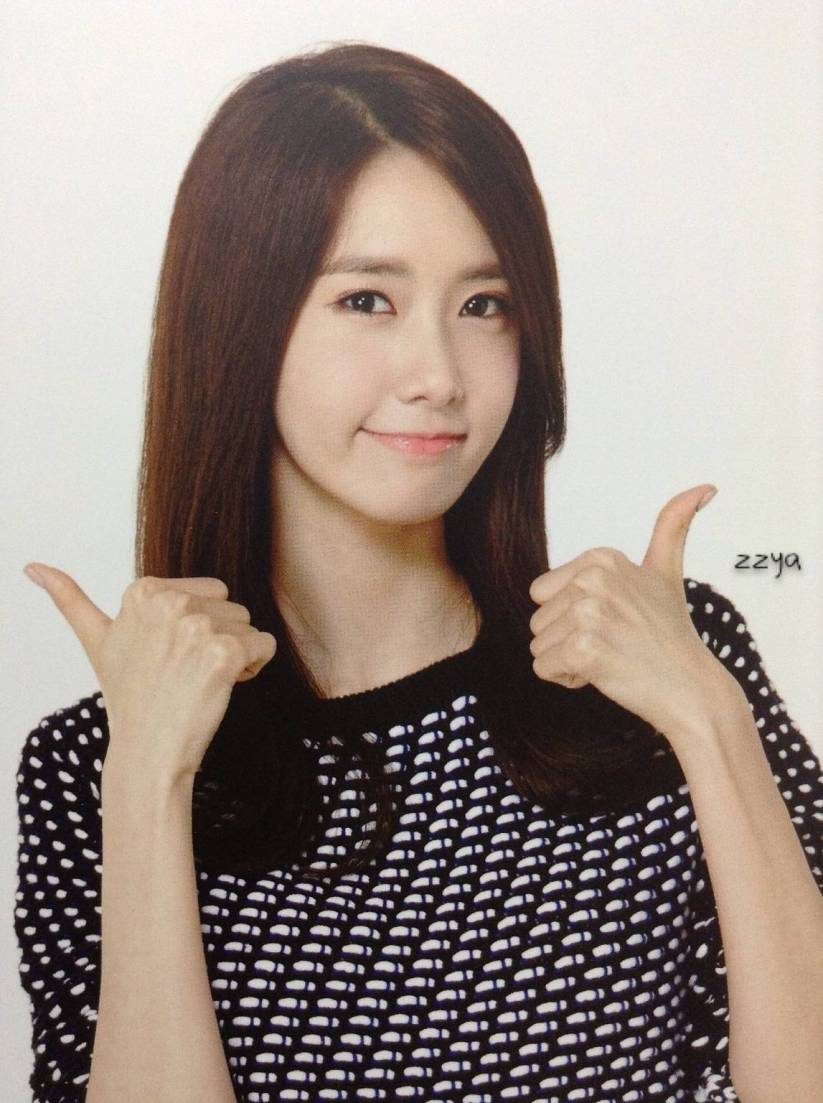 [140726] Yoona (SNSD) Photocard for Lucky Box (Scan) by 吃核桃壳