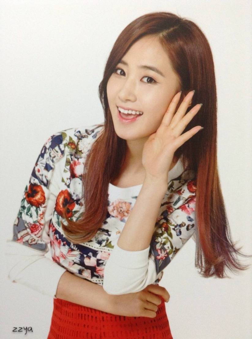 [140726] Yuri (SNSD) Photocard for Lucky Box (Scan) by 吃核桃壳