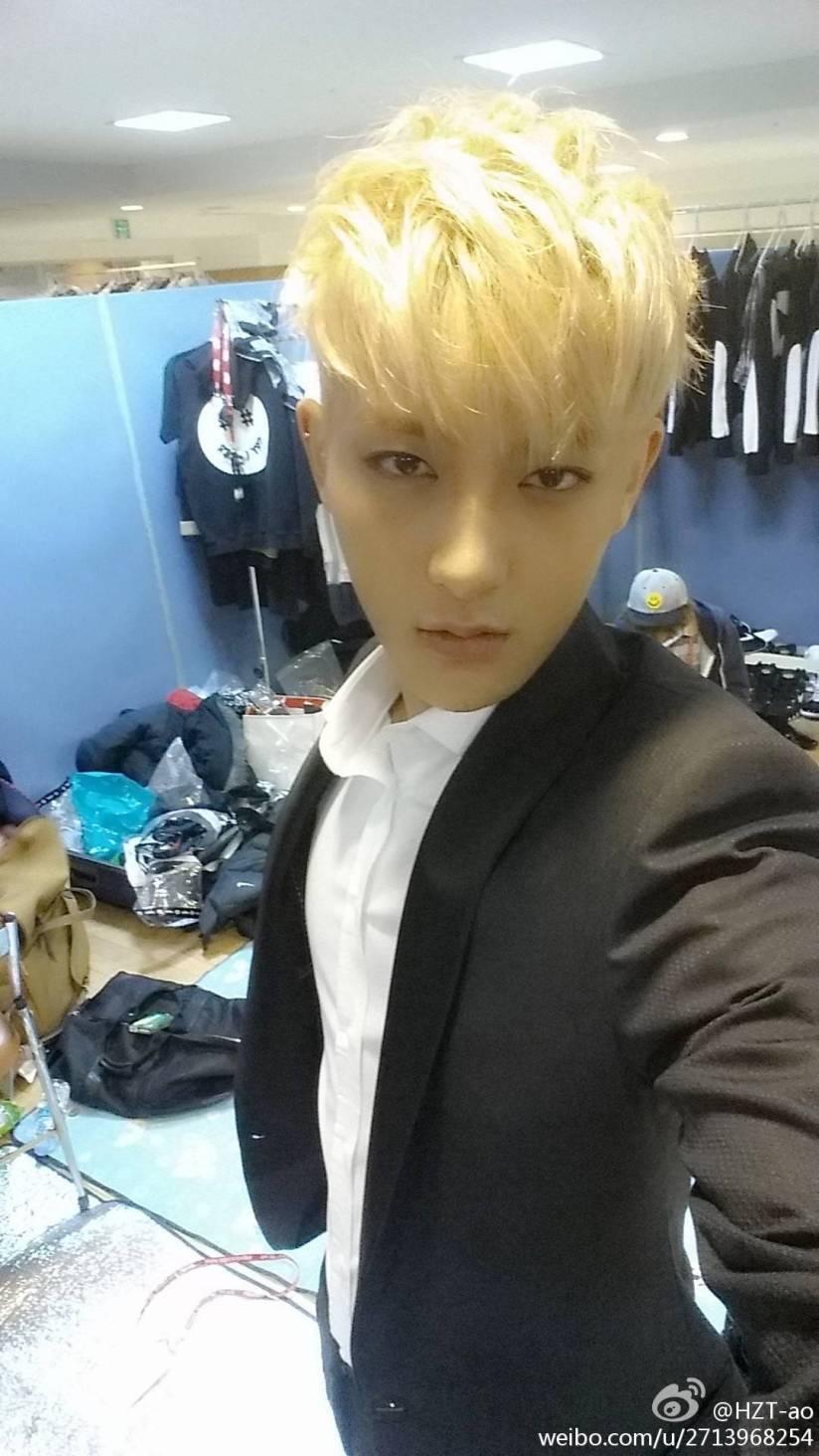 [140728] Tao (EXO) New Selca via Tao's Weibo [3]