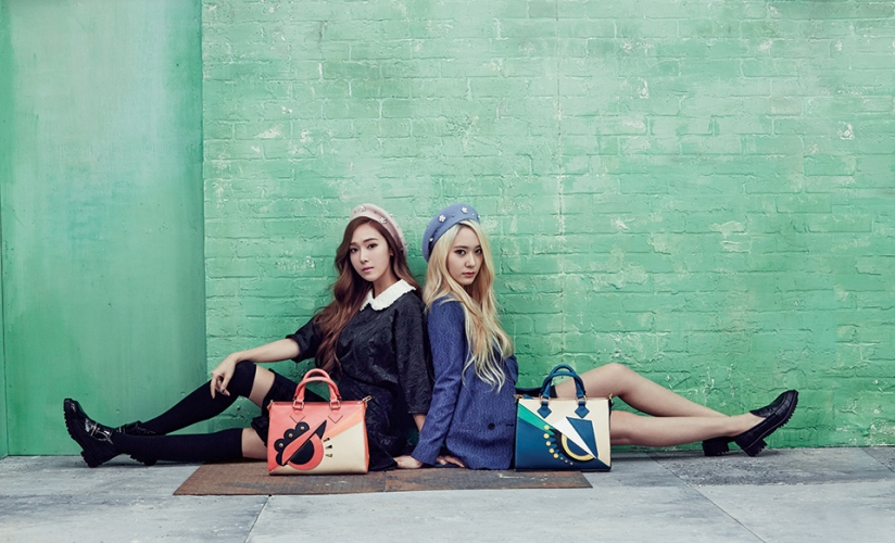 [140730] Jessica (SNSD) & Krystal (F(x)) New Picture for Lapalette CF [1]