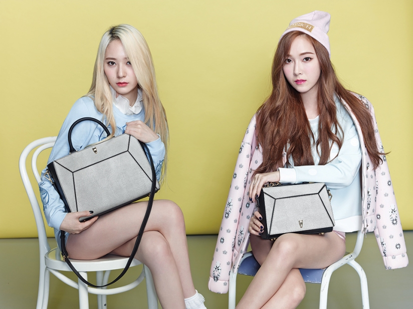 [140730] Jessica (SNSD) & Krystal (F(x)) New Picture for Lapalette CF [2]