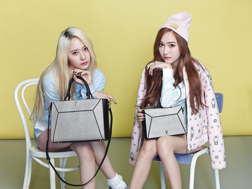 [140730] Jessica (SNSD) & Krystal (F(x)) New Picture for Lapalette CF [3]