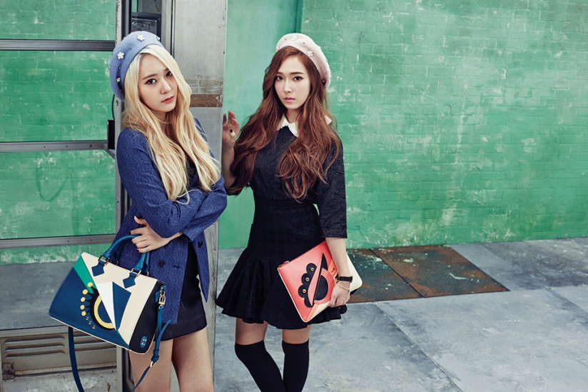 [140730] Jessica (SNSD) & Krystal (F(x)) New Picture for Lapalette CF [4]