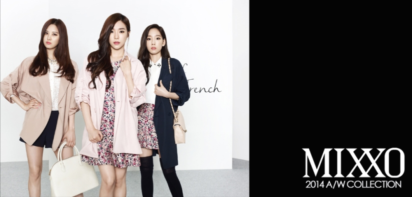 [140730] Taeyeon, Tiffany & Seohyun (SNSD) New Picture for Mixxo CF [1]