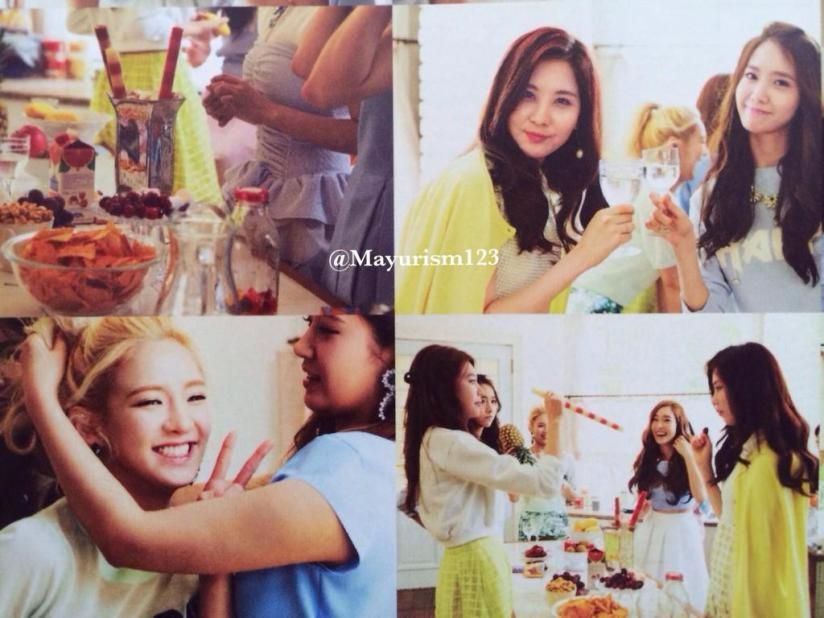 [220714] Girls' Generation (SNSD) New Picture from Photobook The BEST (The Best Japanese Album - Type F) by Mayurism123 [23]
