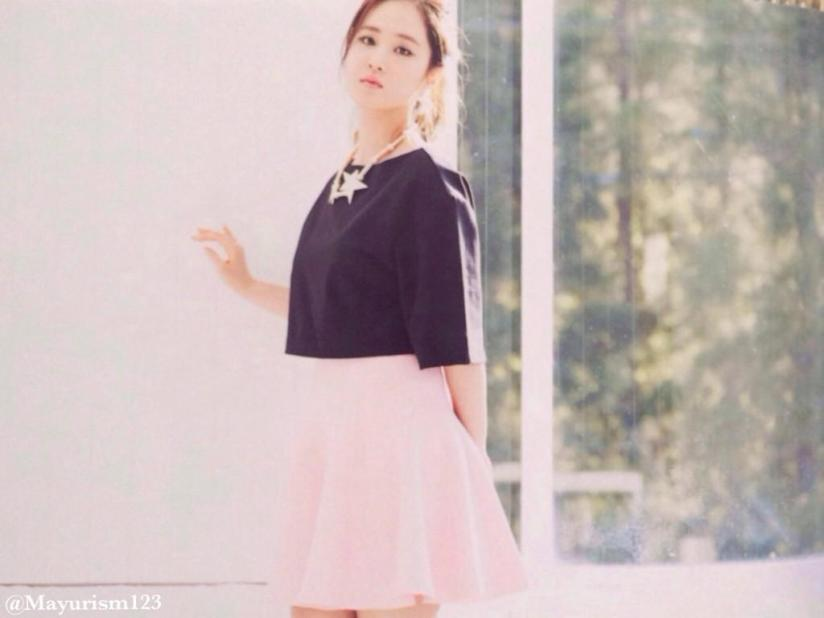 [220714] Yuri (SNSD) New Picture from Photobook The BEST (The Best Japanese Album - Type F) by Mayurism123 [2]