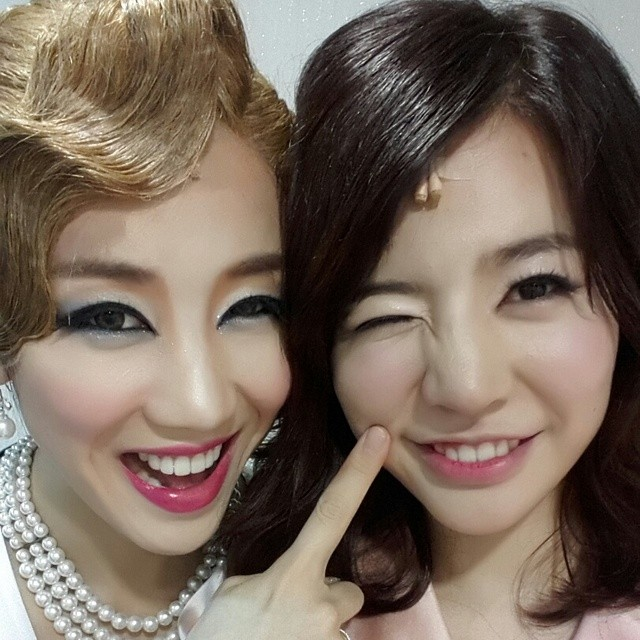 [140801] Sunny (SNSD) New Selca with Bora via sunday040728's instagram