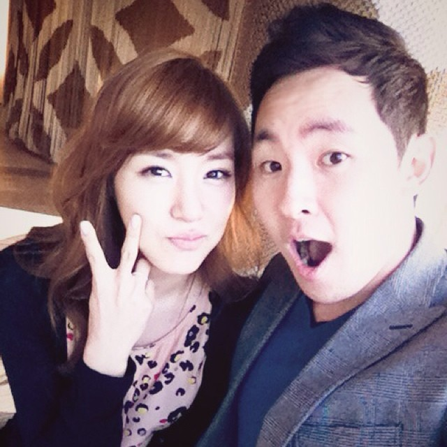 [140801] Tiffany (SNSD) New Selca with Chris Lee via achrislee's Instagram