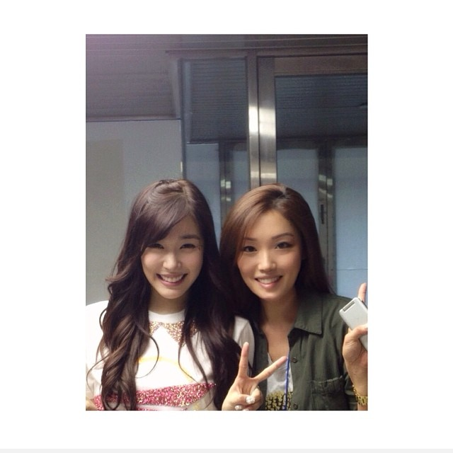 [140801] Tiffany (SNSD) New Selca with Jane Choi via janehchoi's instagram